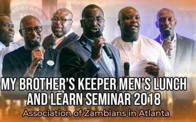 The First Annual My Brother's Keeper Seminar Was A Great Success!